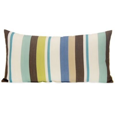Glenna Jean Liam Striped Oblong Throw Pillow