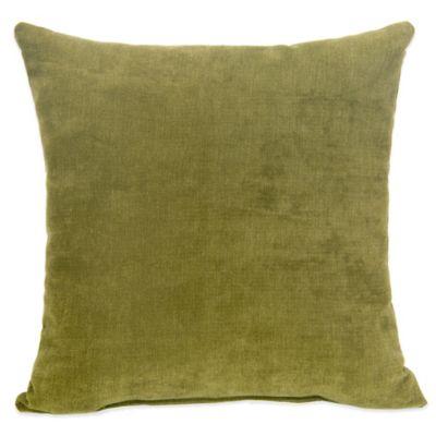 Glenna Jean Liam Square Throw Pillow in Avocado