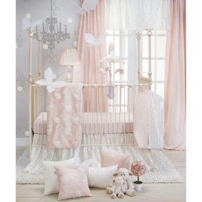 Glenna Jean Lil Princess 3-Piece Crib Bedding Set in Cream/Pink