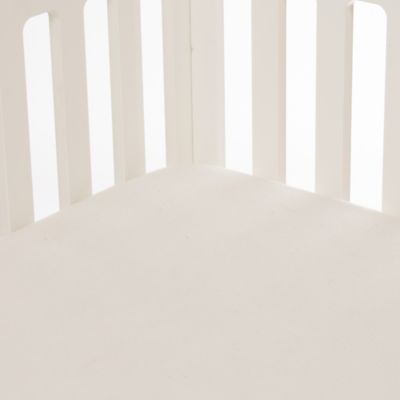 Glenna Jean Lil Princess Softee Fitted Crib Sheet in Cream