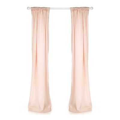 Glenna Jean Lil Princess 90-Inch Window Panels in Pink (Set of 2)
