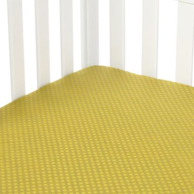 Glenna Jean Urban Cowboy Fitted Crib Sheet in Avocado