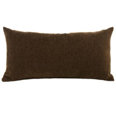 Glenna Jean Urban Cowboy Oblong Throw Pillow in Chocolate