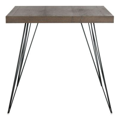 Safavieh Wolcott Lacquer Accent Table in Brown