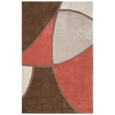 Style Statements Bamberg 3-Foot 6-Inch x 5-Foot 6-Inch Area Rug in Grey