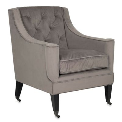 Safavieh Sherman Arm Chair in Taupe