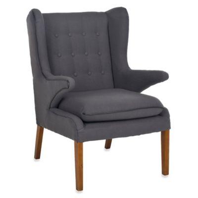 Safavieh Gomer Arm Chair in Grey