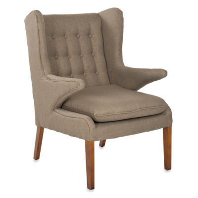 Safavieh Gomer Arm Chair in Olive