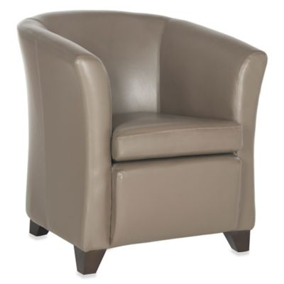 Safavieh Brown Tub Chair