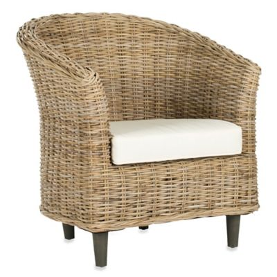 Safavieh Omni Barrel Chair in Natural