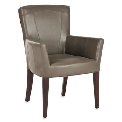 Safavieh Dale Arm Chair in Brown