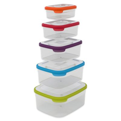 10-Piece Storage Container