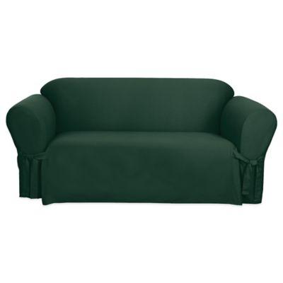 Hunter Green Sofa Slipcovers
