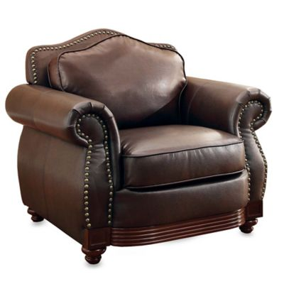 Verona Home Eaton Armchair in Brown