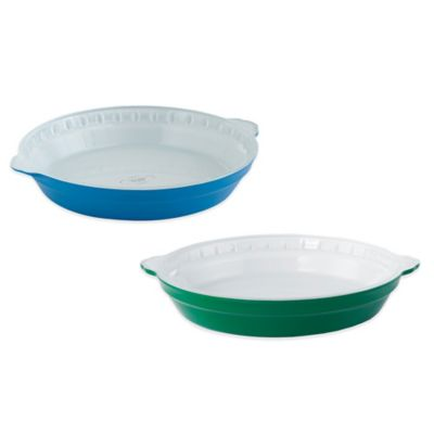 Creo SmartGlass 9-Inch Pie Dish in Light Green