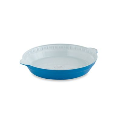 Creo SmartGlass 9-Inch Pie Dish in Light Blue