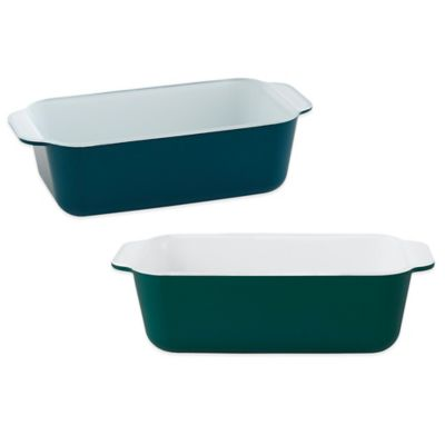 Creo SmartGlass 8-1/4-Inch x 4-1/2-Inch Loaf Pan in Dark Green