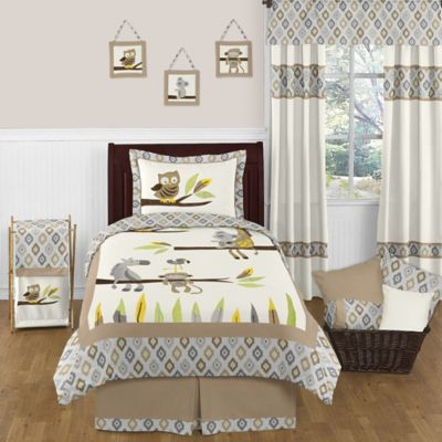 Sweet Jojo Designs Safari Outback 4-Piece Twin Comforter Set