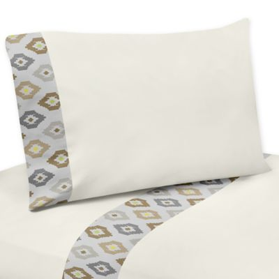 Sweet Jojo Designs Safari Outback 3-Piece Twin Sheet Set