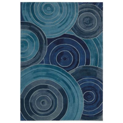 Kathy Ireland® Home Palisades Ovation 5-Foot x 7-Foot 6-Inch Area Rug in Denim
