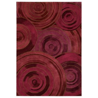 Kathy Ireland® Home Palisades Ovation 5-Foot x 7-Foot 6-Inch Area Rug in Plum