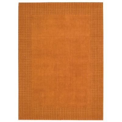 Kathy Ireland® Home Cottage Grove 5-Foot 3-Inch x 7-Foot 5-Inch Area Rug in in Terracotta