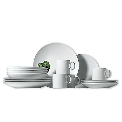 Rosenthal Thomas Loft 16-Piece Dinnerware Set in White