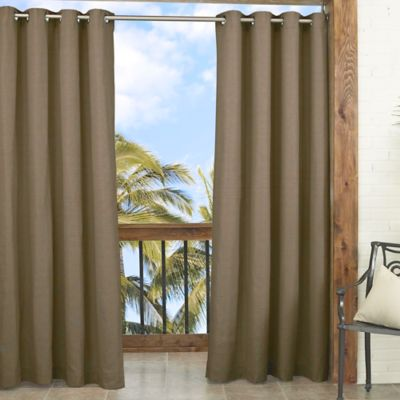 Parasol Key Largo 84-Inch Window Curtain Panel in Caramel