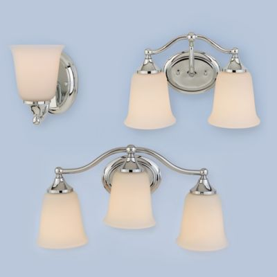 Feiss® Claridge Wall-Mount 1-Light Vanity Light in Chrome