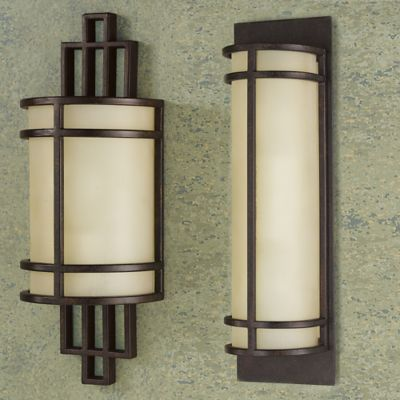 Feiss® Fusion 1-Light Wall Sconce in Grecian Bronze