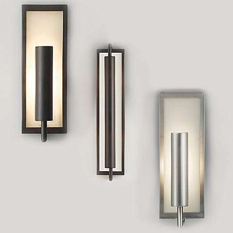 Buy feiss mila 2 light wall sconce in oil rubbed bronze from bed bath beyond for Bathroom wall sconces oil rubbed bronze