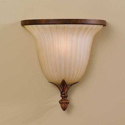Feiss® Sonoma Valley Wall Sconce in Aged Tortoiseshell