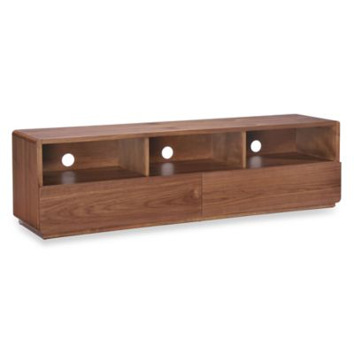 Zuo® Park West TV Stand in Walnut