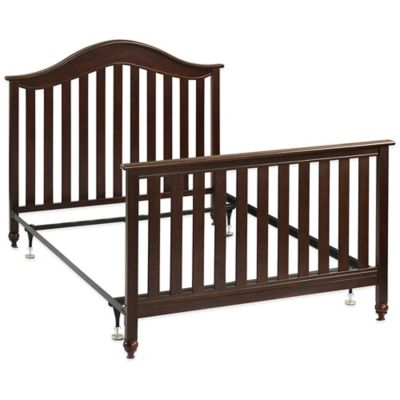 Fisher-Price® Twin/Full Size Metal Bed Frame with Headboard and Footboard Conversion