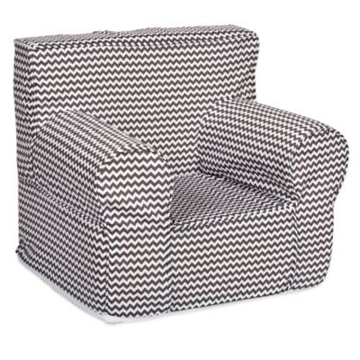 Trend Lab® Bedtime Grey Chevron Petite Accent Chair