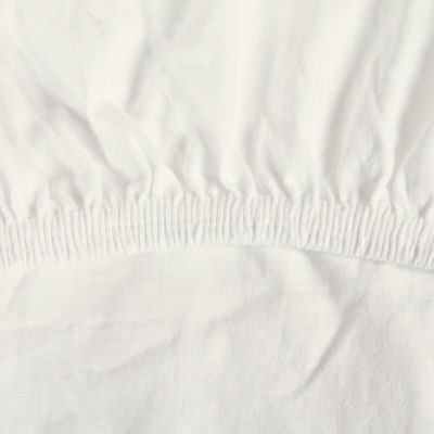 babyhome® Naturalmat Organic Cotton Fitted Sheet in Ivory