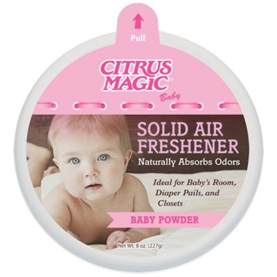 Citrus Magic® Baby 8 oz. Baby Powder Solid Air Freshener
