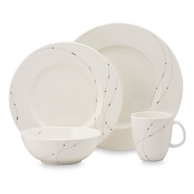 Simply Fine Lenox® Twirl 4-Piece Place Setting