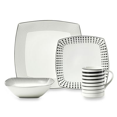 Mikasa® Cheers Square 4-Piece Place Setting
