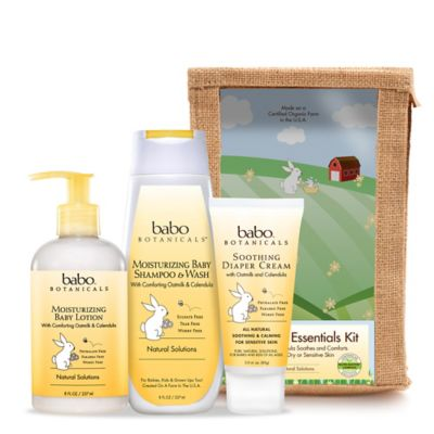 Babo Botanicals® Essential Newborn Gift Set