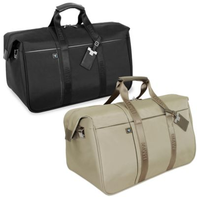 BMW 22-Inch Weekender Duffle in Champagne