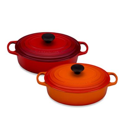 Le Creuset® Signature 3.5 qt. Wide Oval French Oven in Flame
