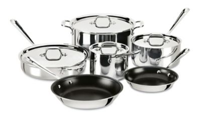 Metallic All-Clad Stainless Sets