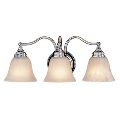 3 Light Chrome Vanity Light