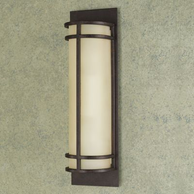 Feiss® Fusion 2-Light Wall Sconce in Grecian Bronze