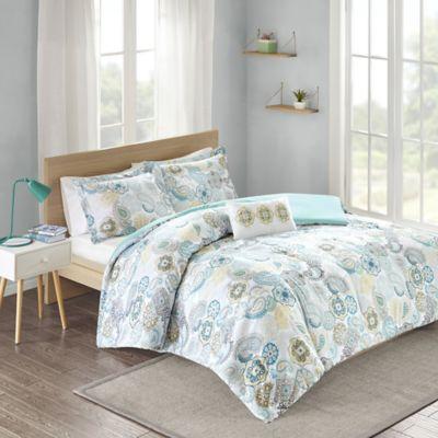Cool Blue Comforter Set