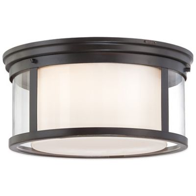 Metallic Flush Mount Light