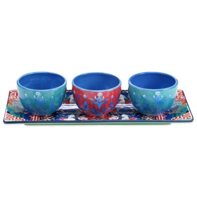 Tracy Porter® Poetic Wanderlust® Reverie 4-Piece Serving Set