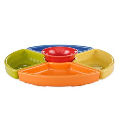 Fiesta 5-Piece Entertaining Set in Bright Colors