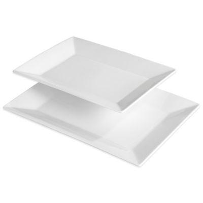 Denmark® Rectangular Platters (Set of 2)